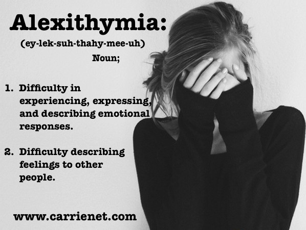 Alexithymia | Licensed Professional Online Therapy