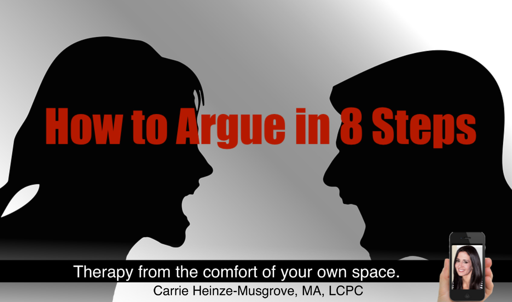 Learn the Secret to Happy Arguing.