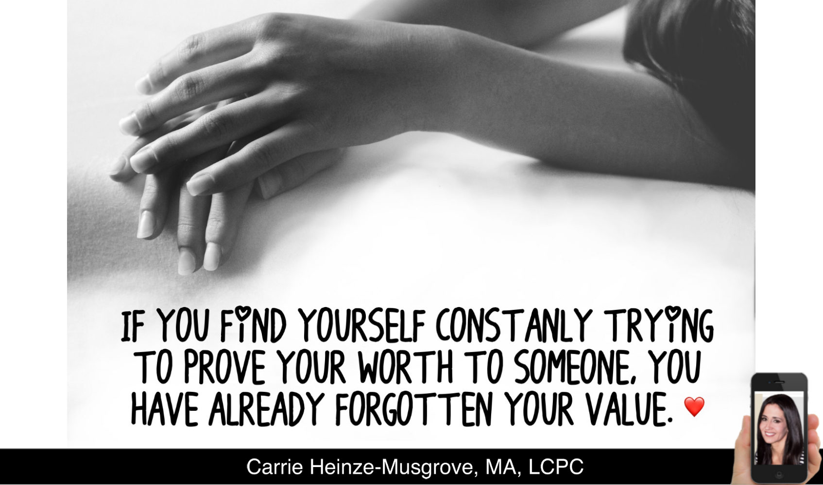 Still Trying to Prove Your Worth? Here's why you shouldn't.