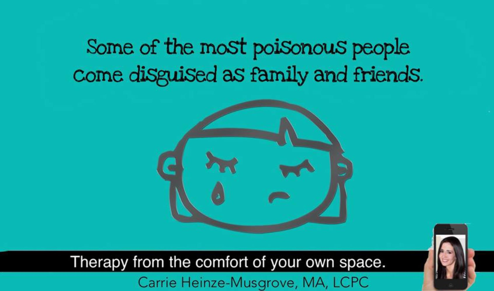 When Family and Friends are Toxic.