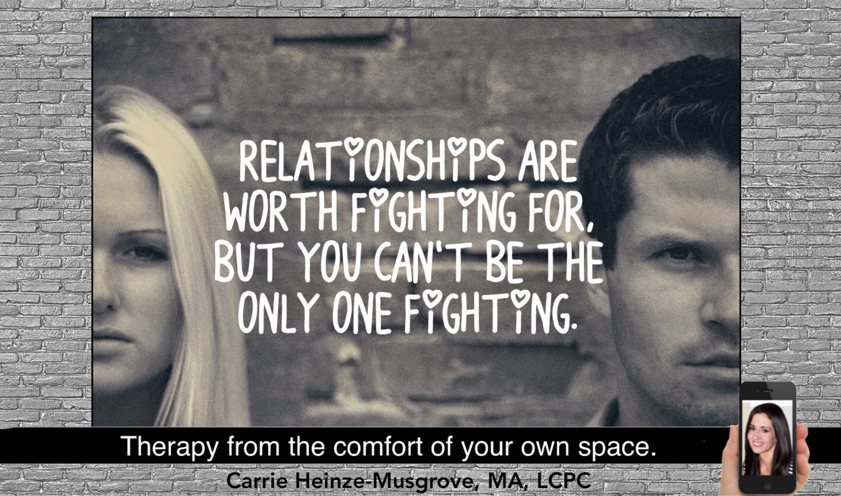 Individual Therapy for Relationship Issues.