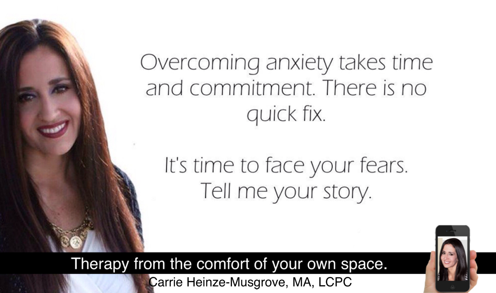 Fear  Anxiety  Panic | Carrie Heinze-Musgrove, MA, LCPC
