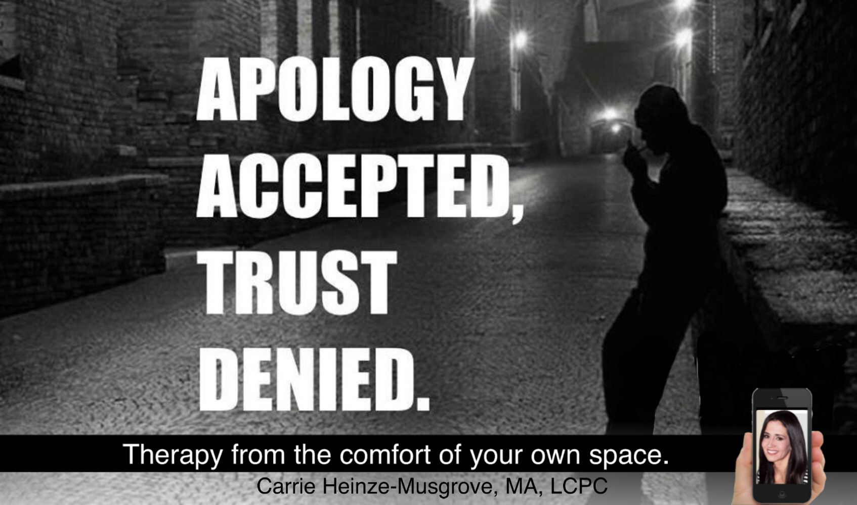 When saying sorry isn't good for your relationship
